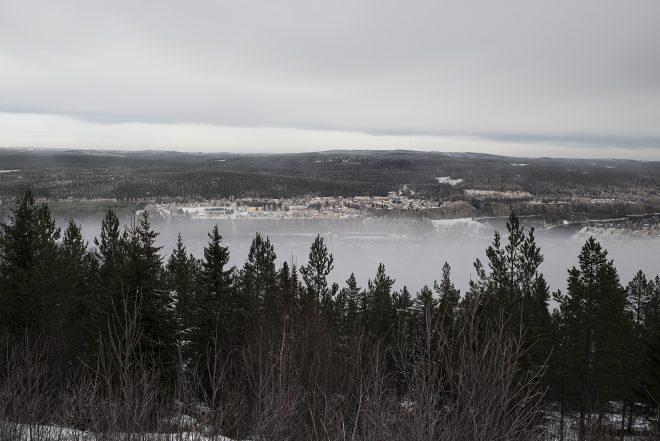 Landskap från Ådalen.