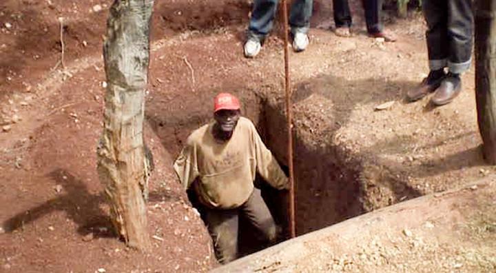 Gruvarbetare raddade efter fem dagar
