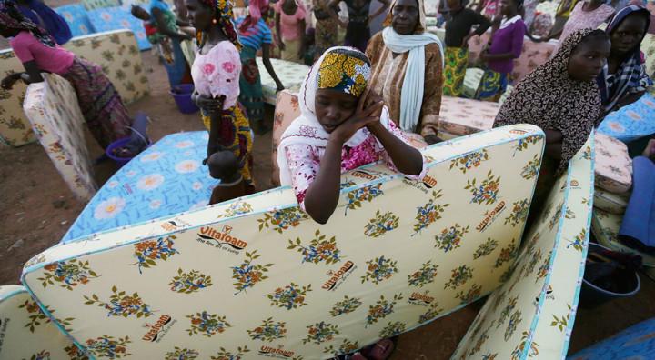 Tchads lidande pagar i det tysta