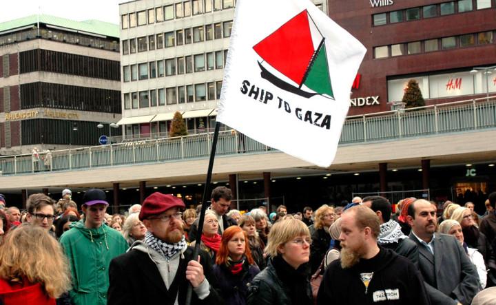 Israelisk razzia mot aktivister
