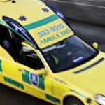 Ambulans kallades till SSAB:s kallvalsverk i Borlänge och operatören fick föras till sjukhus med allvarliga skador.