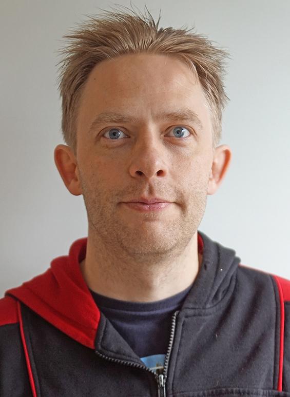 Porträtt av Lars Karlsson, ombudsman Transport Stockholm
