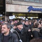 Hundratusentals personer tog del i de protester runt om i Slovakien som mordet på journalisten Jan Kuciak och hans fästmö Martina Kusnirova utlöste. Det tvingade premiärministern och inrikesministern att avgå.