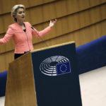 EU-kommissionens ordförande Ursulavon der Leyen meddelade i talarstolen där hon förklarade att den så kallade Dublinförordningen kommer att skrotas.
