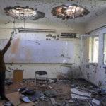 Universitetet i Kabul förvandlades till ett blodbad.