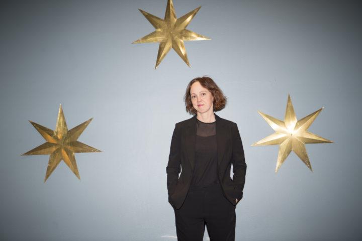 Regissören och författaren Mia Engberg i samband med premiären på Lucky One i mars 2019.