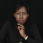 Porträtt av författaren Scholastique Mukasonga