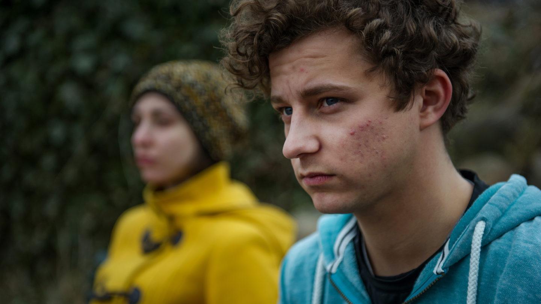 Hayden och Gabriel i tv-serien Änglavakt