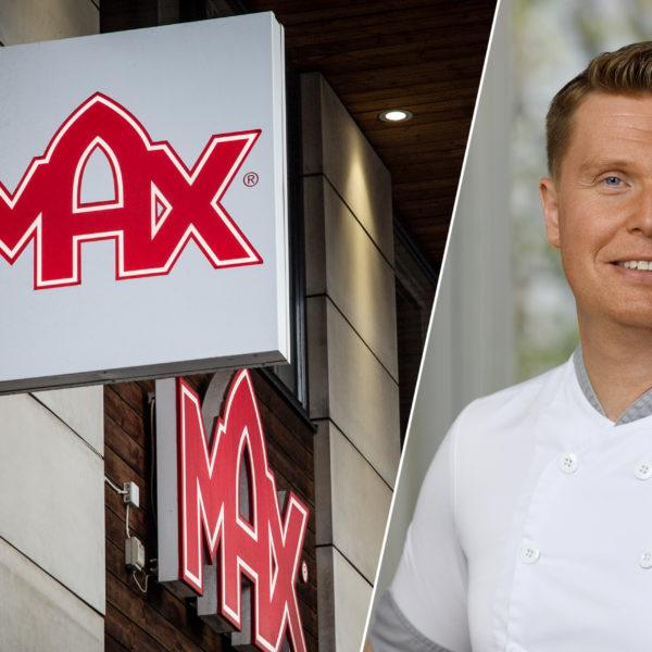 Rickard Holm, Sverige- och Norgechef för Max Hamburgare