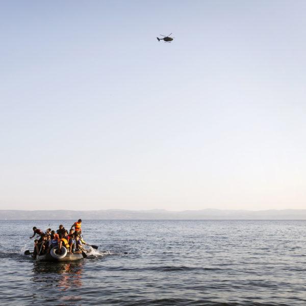 41 migranter omkom på medelhavet sedan deras båt började läcka vatten