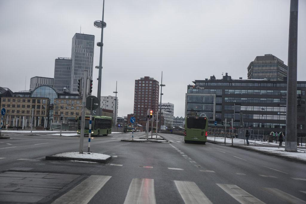Gatuvy från Malmö.