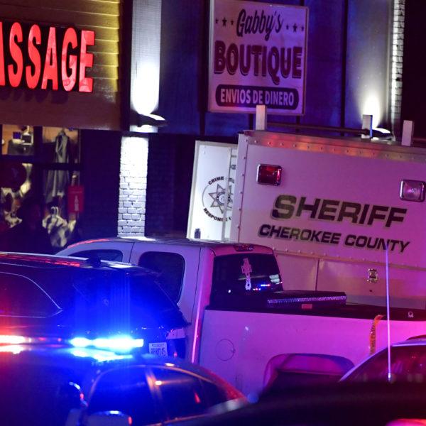 Dödsskjutningar mot massagesalonger i Georgia