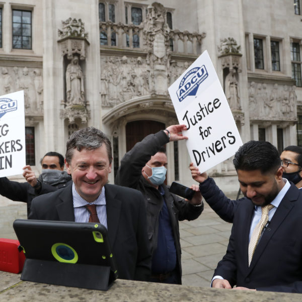 Uber-förare i London