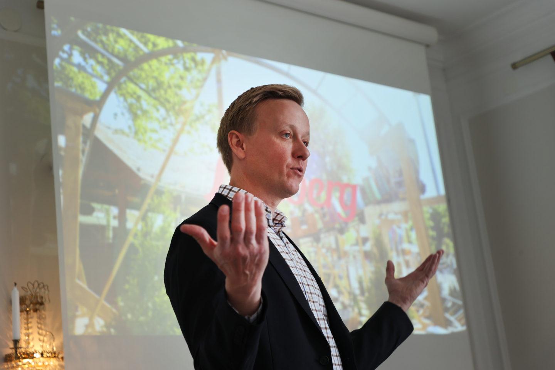 Andreas Andersen vd för Liseberg.
