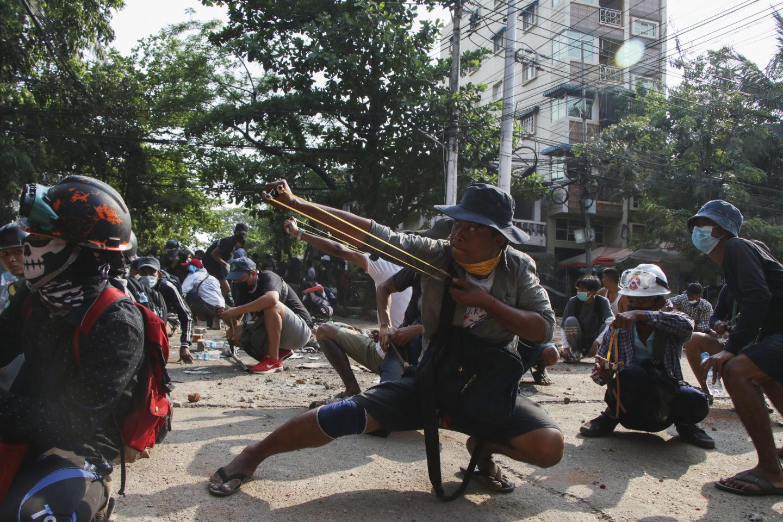 Blodigaste helgen i Myanmar