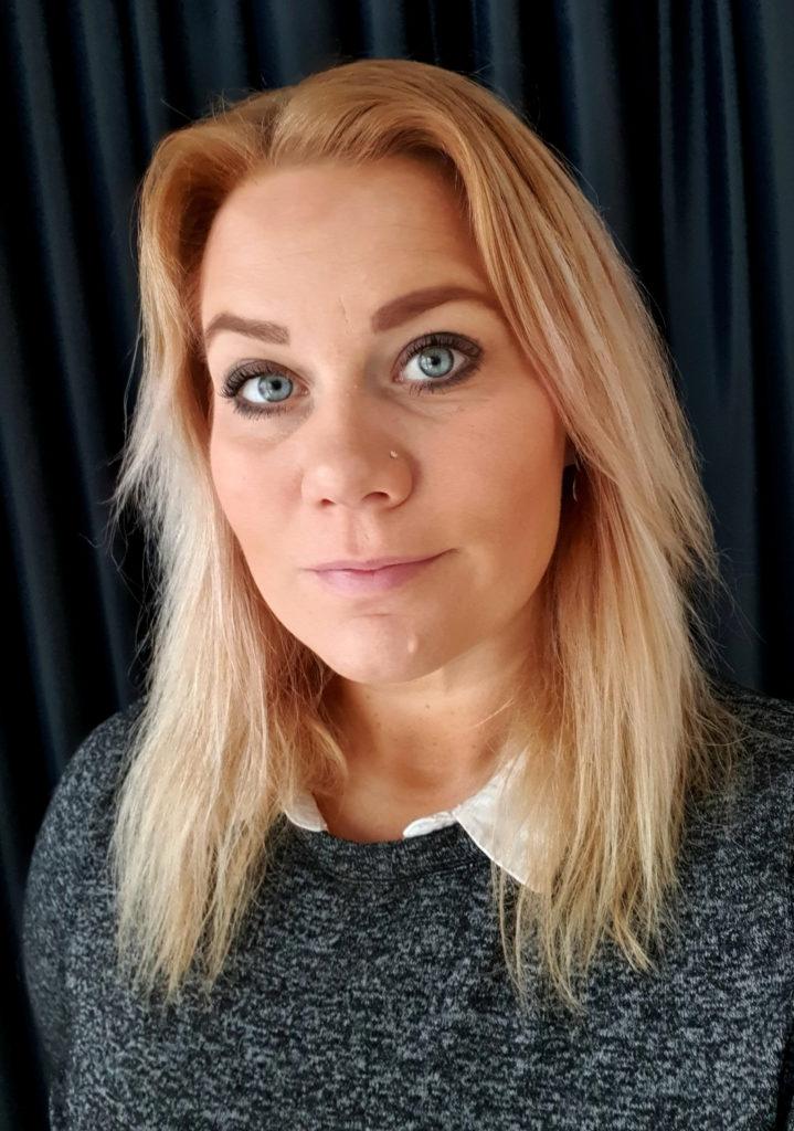 Frida Strandberg Landin, ordförande för Seko-klubben på Statens Institutionsstyrelse