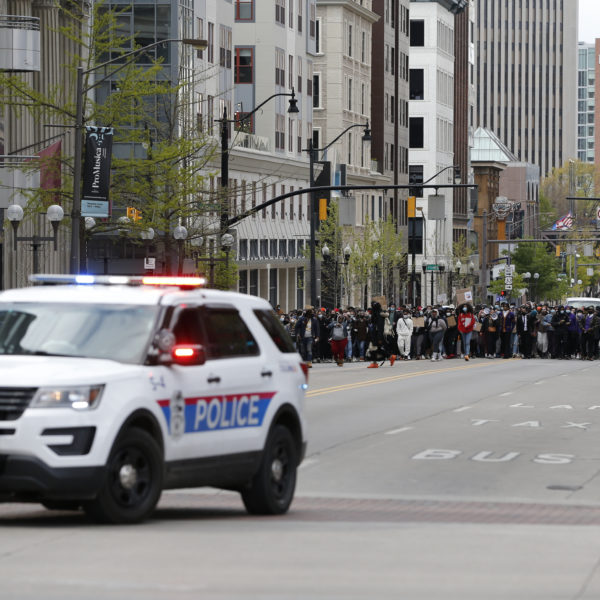 Polisbil i Columbus, USA