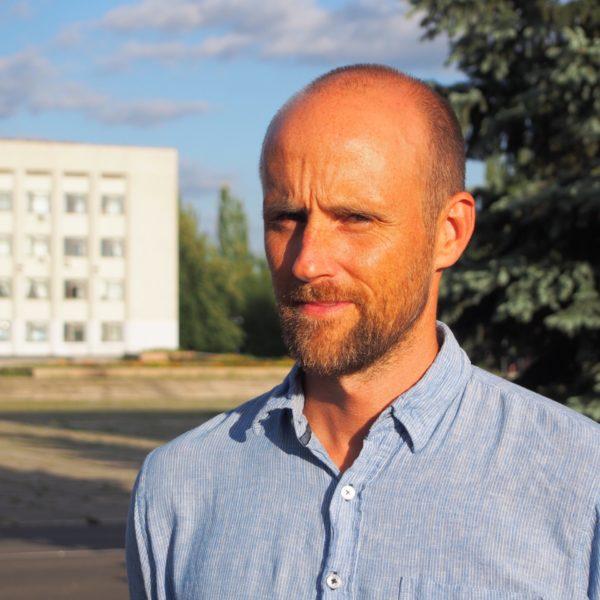 Författaren Pelle Sunvisson