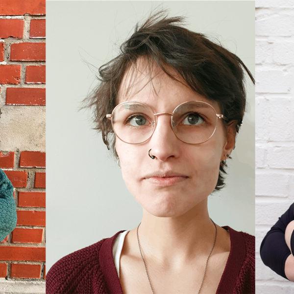 Sara Hultkvist, Erika Melchert och Alma Lindén.
