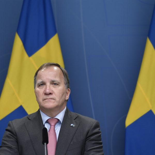 Statsminister Stefan Löfven avgår