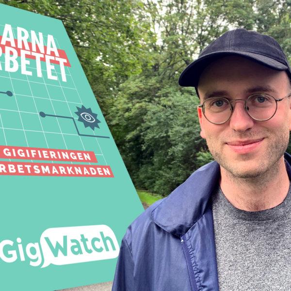 Montage av Jacob Lundberg från Gigwatch och deras rapport
