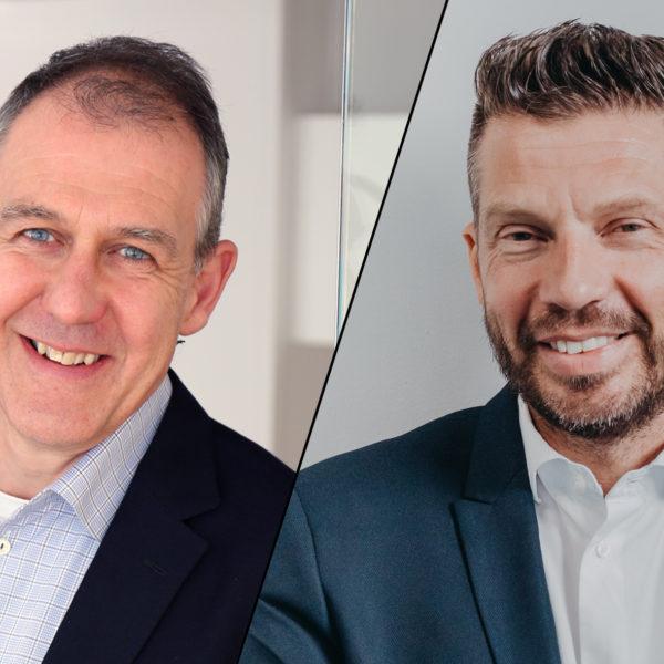 Jan Zetterström, ordförande för Säljarna, och Stephen Schad, vd för Frilans Finans