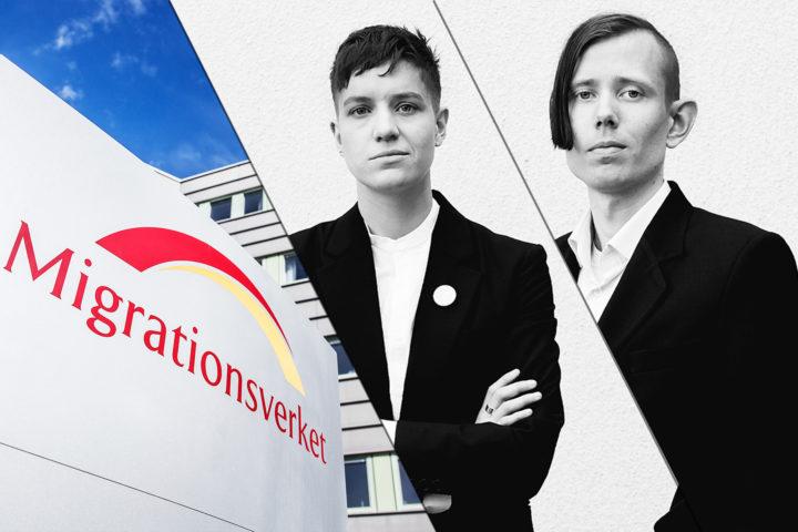 Silas Aliki och Joakim Lundqvist är asyljurister på Folkets Juristbyrå