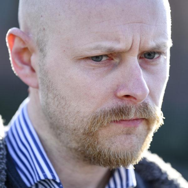 André af Geijerstam (SD), partiets gruppledare i kommunfullmäktige i Sjöbo.