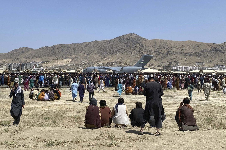 Flygplatsen i Kabul