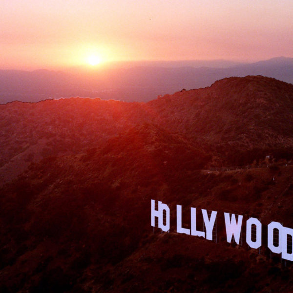 Hollywood i skymning